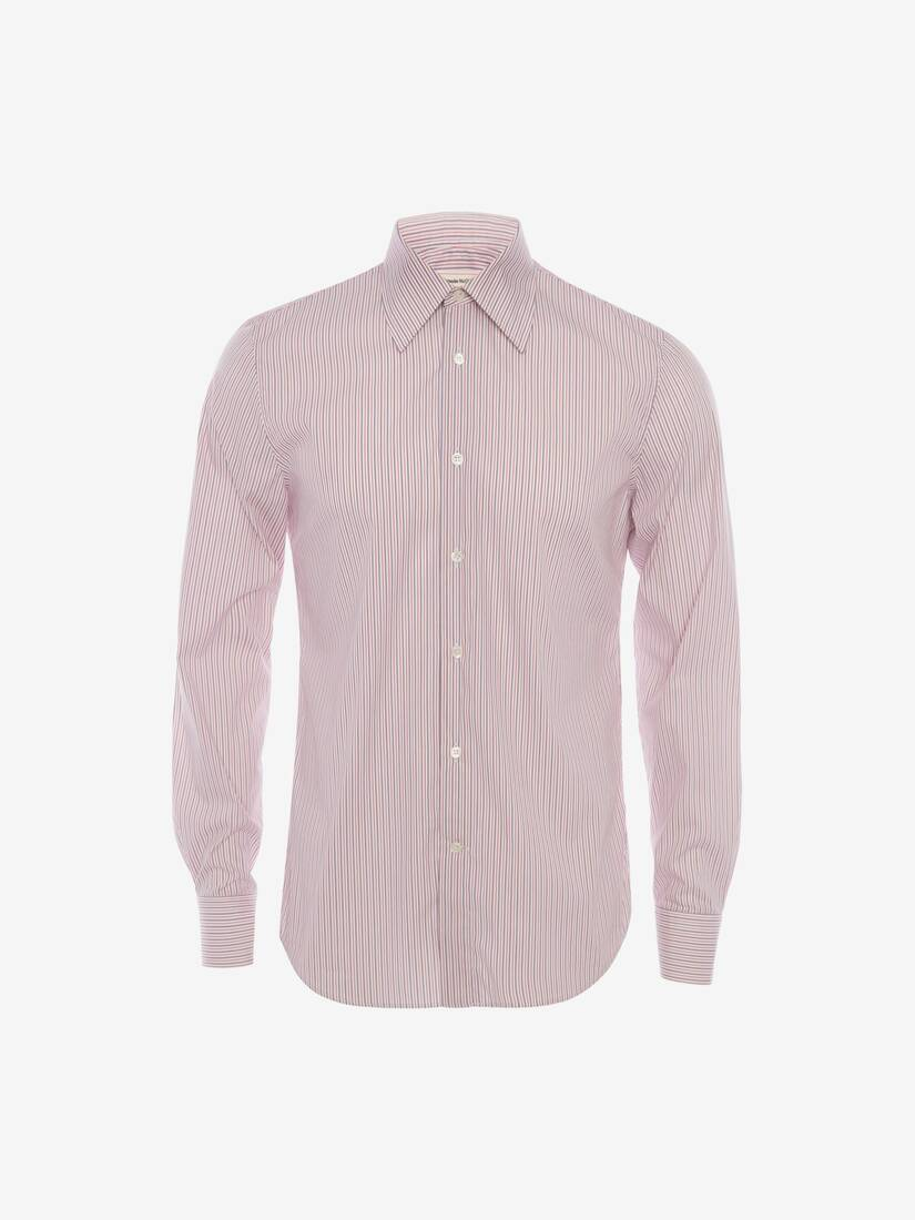 Display a large version of the product image 6 - Point Collar Cotton Poplin Shirt