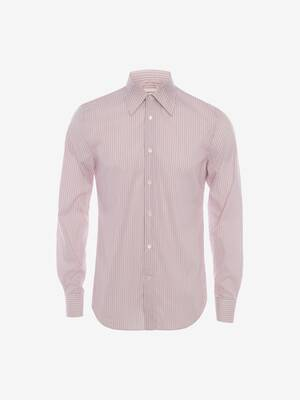 Point Collar Cotton Poplin Shirt