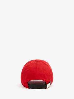 Embroidered Alexander McQueen Selvedge Baseball Cap