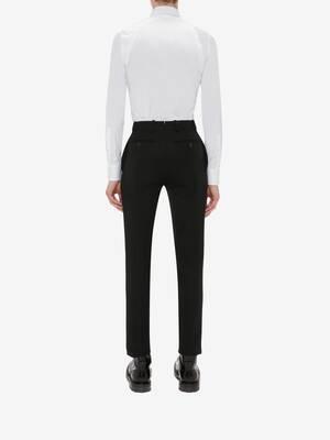 Pleated Harness Shirt
