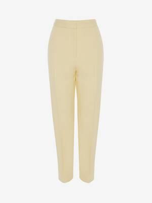 Pantaloni Slim a Vita Alta