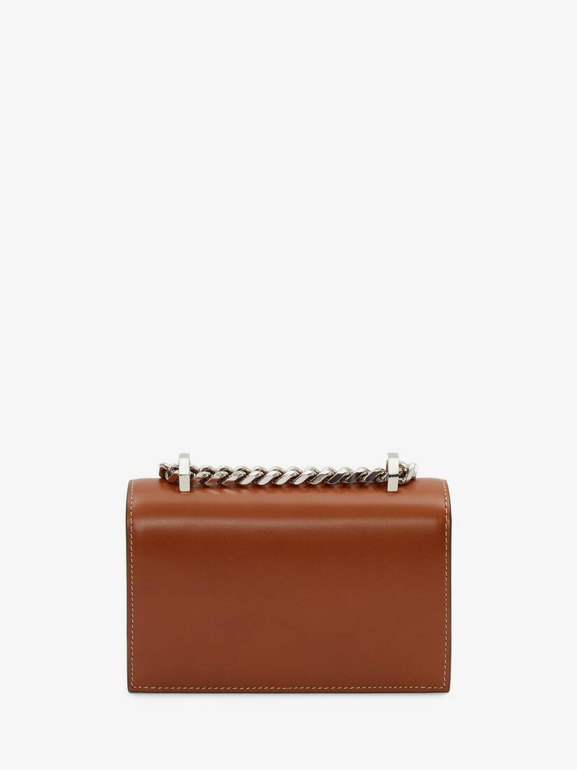 Sculptural Mini Jewelled Satchel