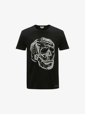 T-Shirt Cable Skull