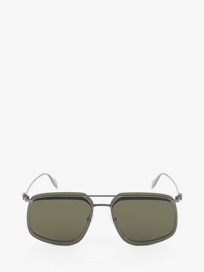 Display a large version of the product image 1 - Metal Frame Square Sunglasses