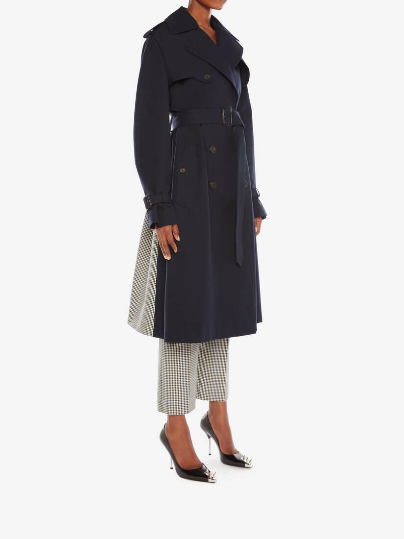 Display a large version of the product image 3 - Hybrid Trench Coat