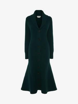Manteau à col châle