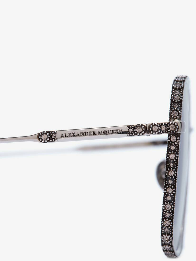 Display a large version of the product image 4 - Jewelled Square Sunglasses