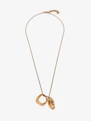 Lange Molten-Halskette