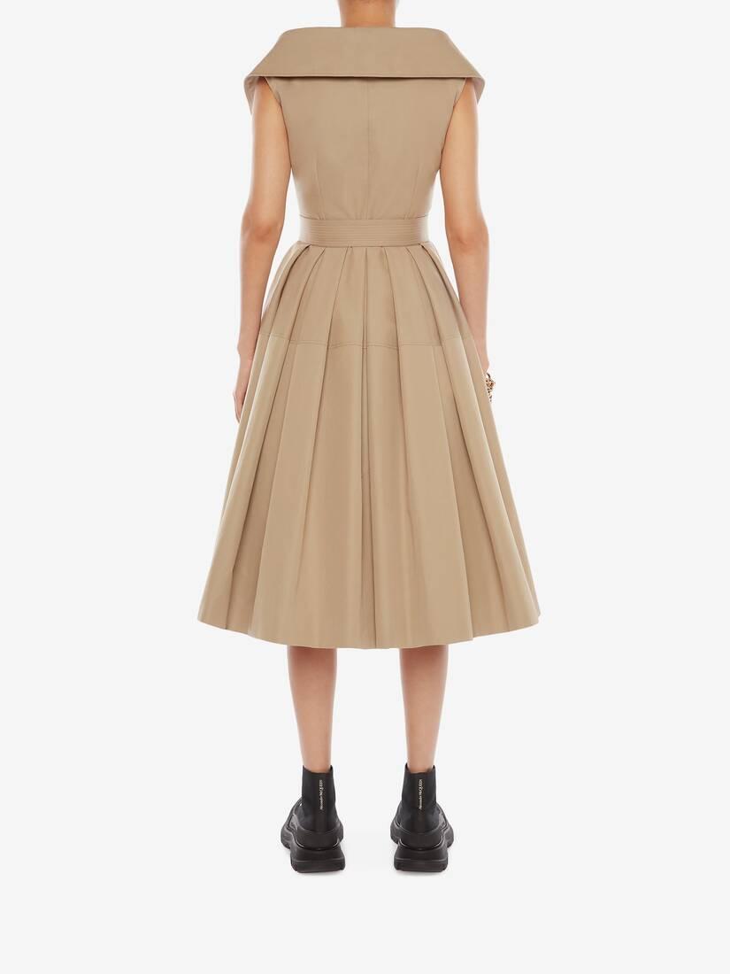 익스플로디드 트렌치 드레스
