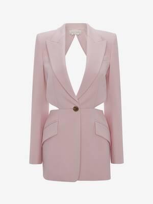 Open-Back Wool Jacket