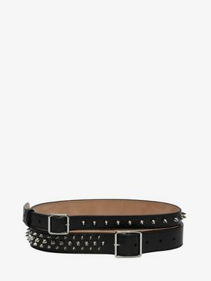 Studded Double Belt