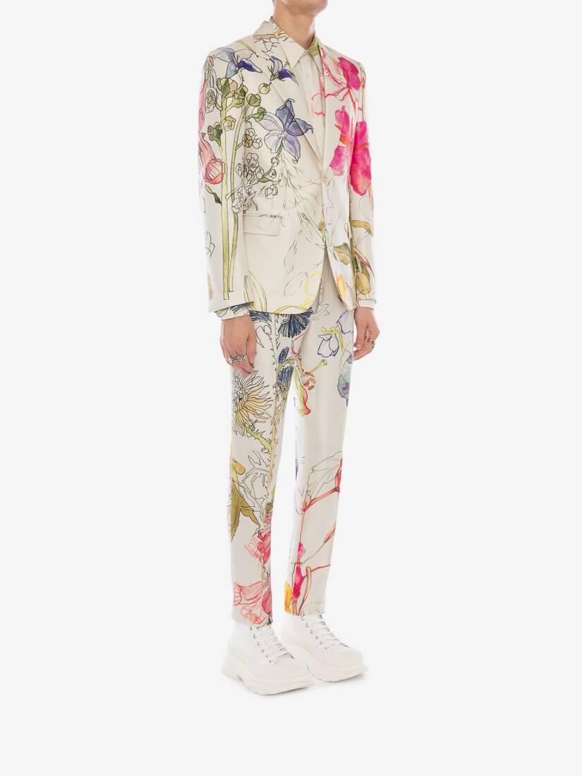 Deconstructed Floral Pants