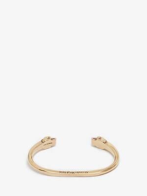 Bracelet avec twin skulls