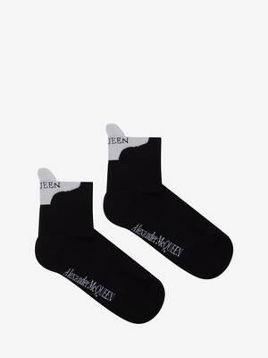 Chaussettes avec signature McQueen