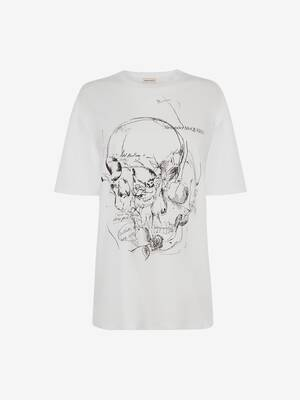T-Shirt Skull Sketchbook