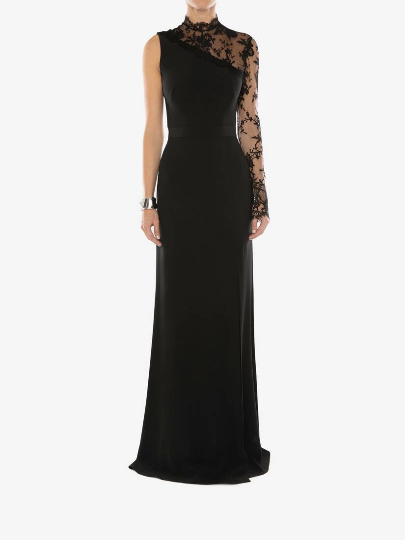 Display a large version of the product image 2 - Lace Evening Dress