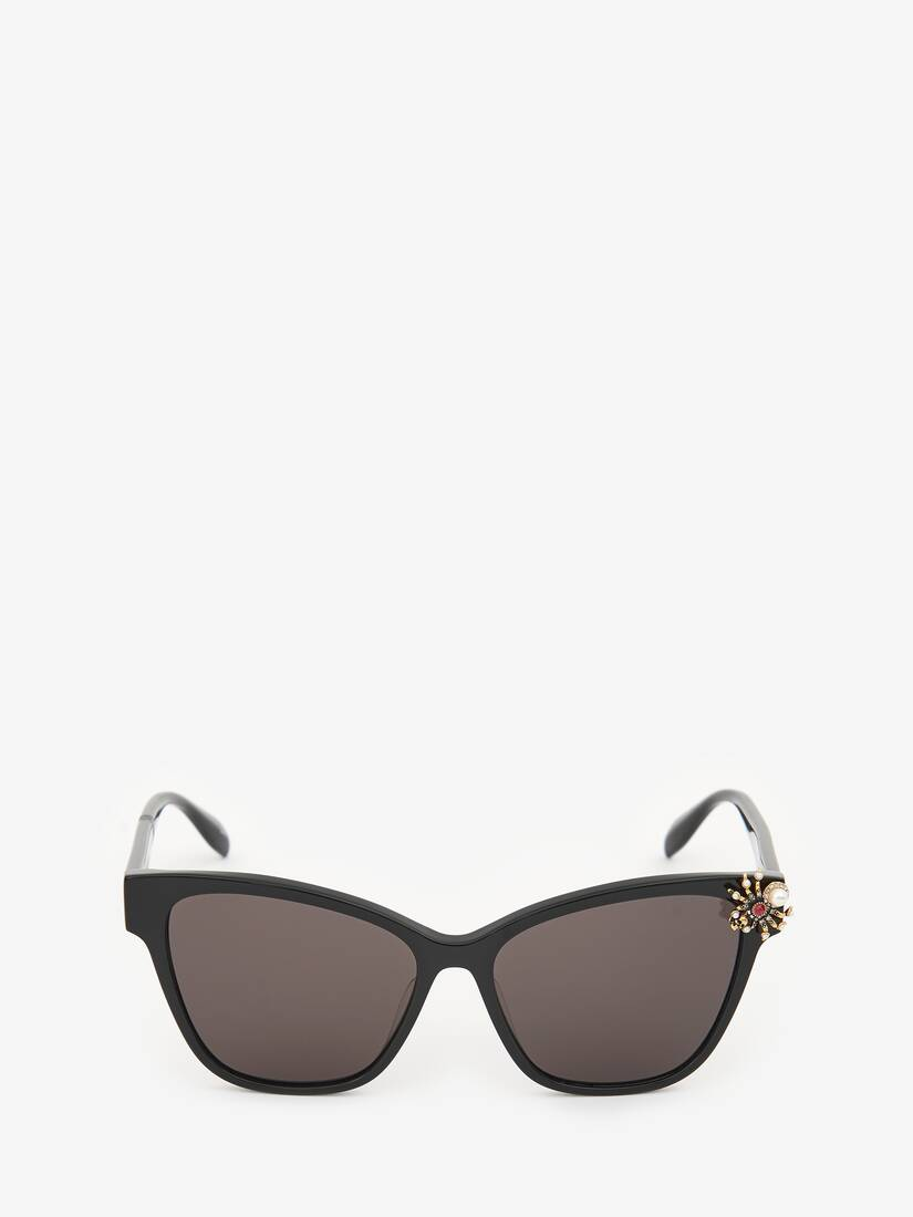Display a large version of the product image 1 - Spider Jeweled Acetate Sunglasses