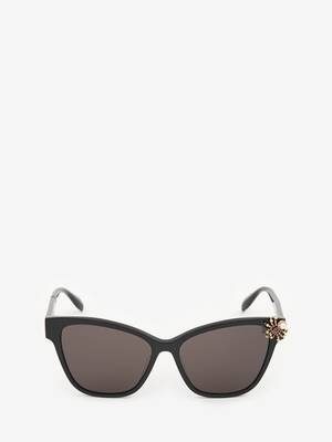 Spider Jewelled Acetate Sunglasses