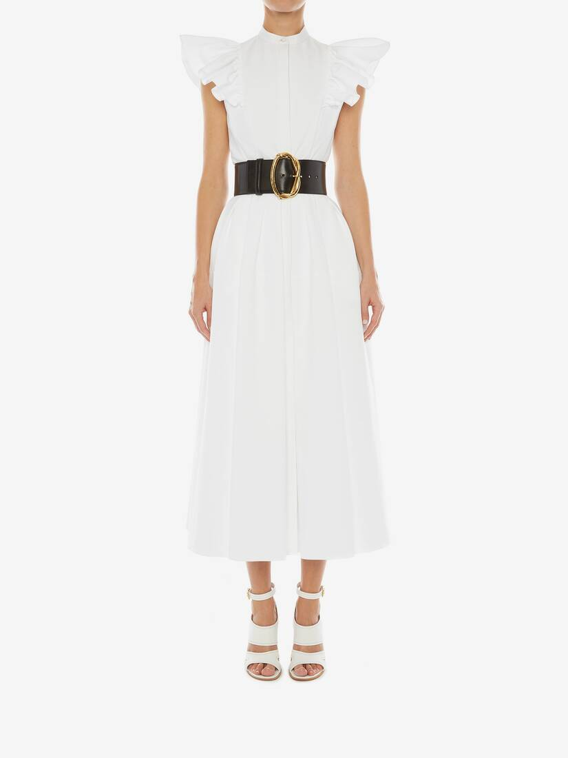 Display a large version of the product image 2 - Cotton Piquet Midi Dress