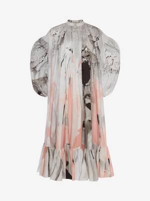트롱프뢰유 포플린 미디 드레스