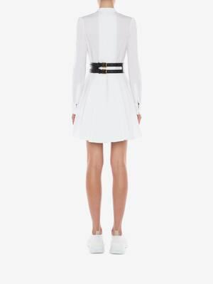Cotton Poplin Mini Dress