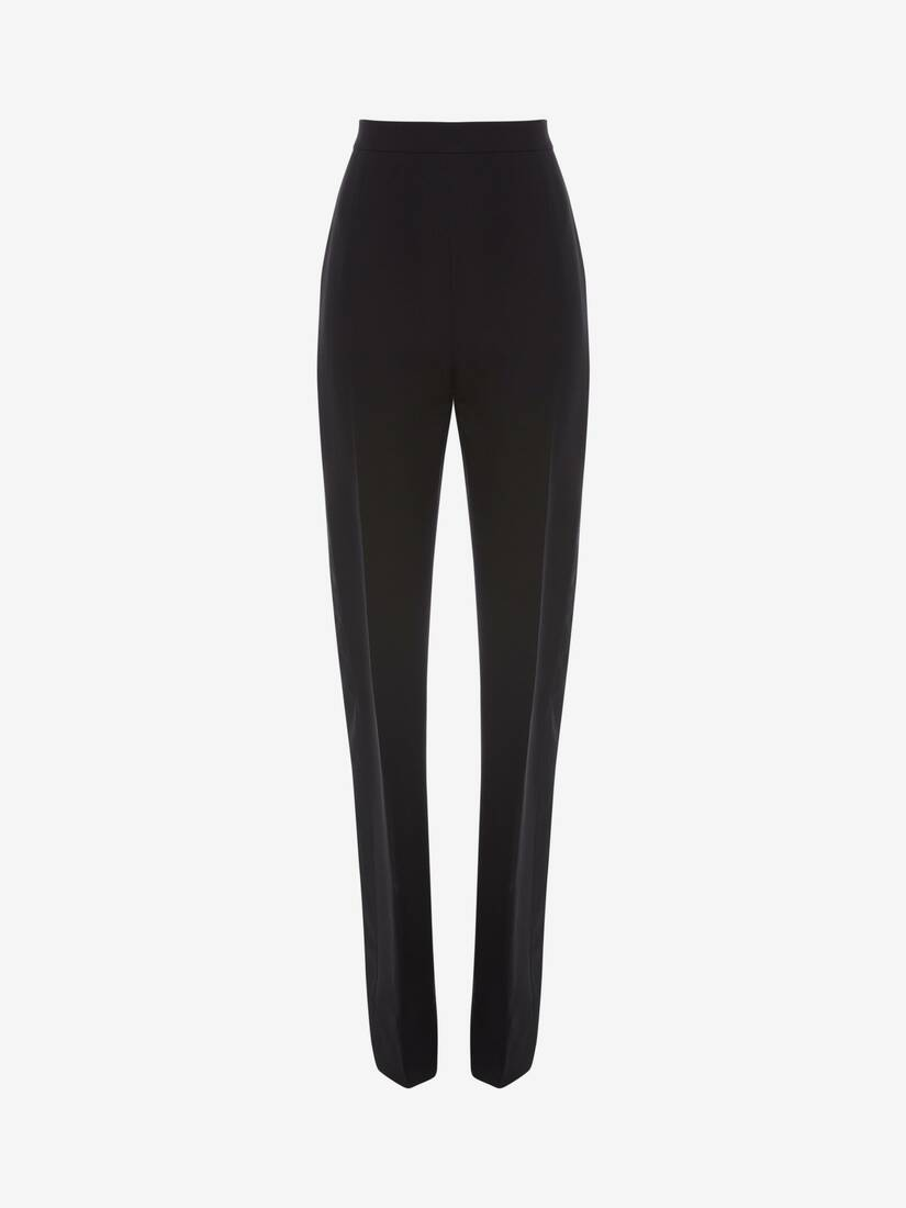 Double Duchesse High Waisted Trouser