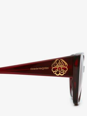 Seal Logo Square Sunglasses