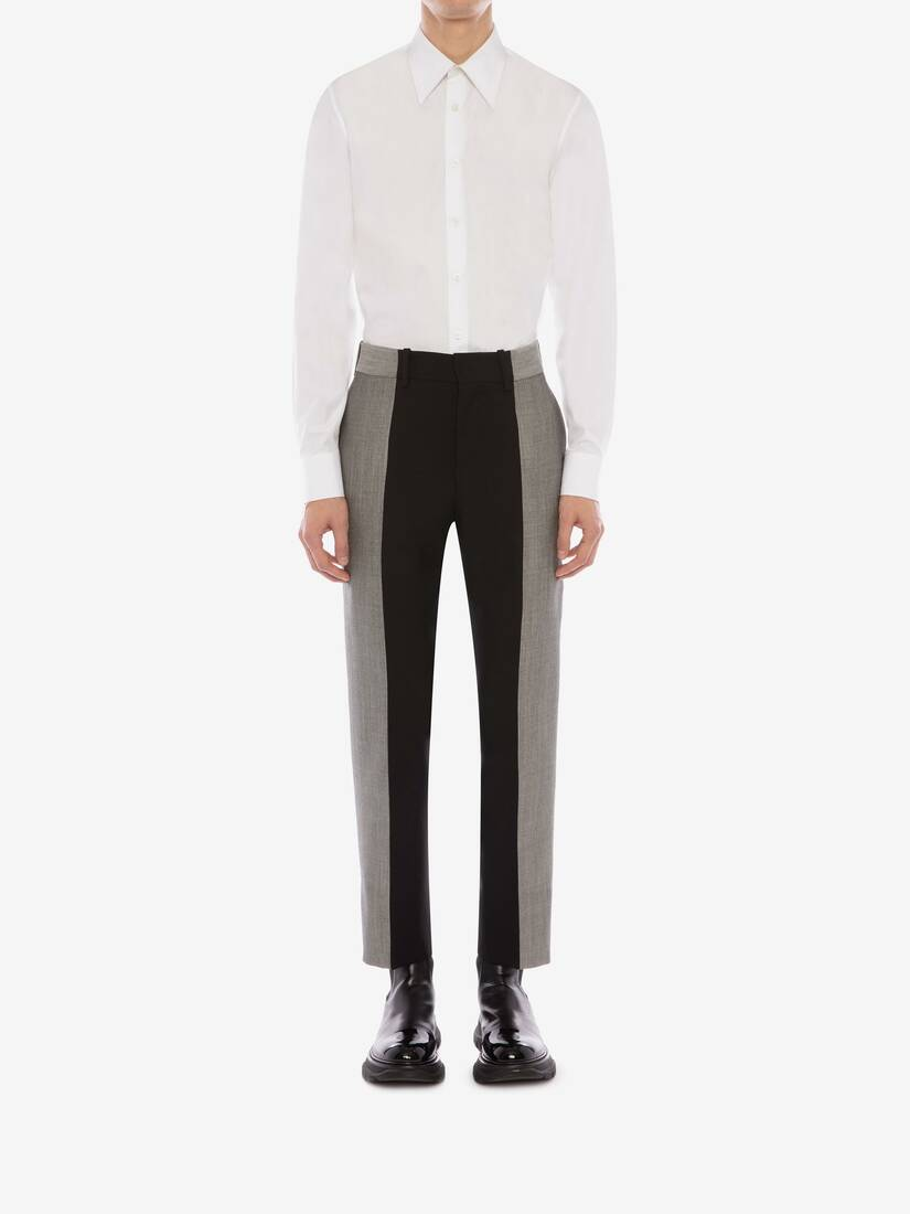 Display a large version of the product image 3 - Paneled Tailored Pants