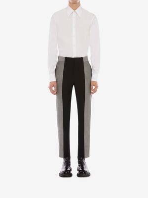 Panelled Tailored Trousers