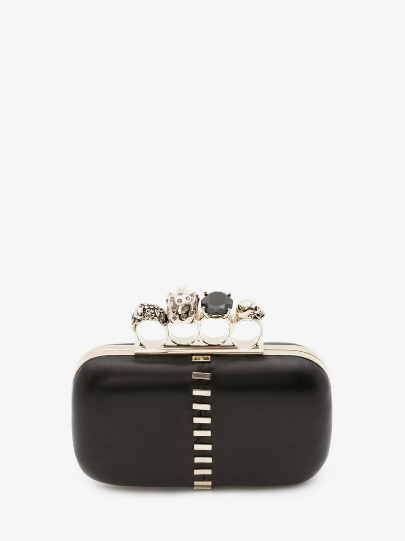 Display a large version of the product image 3 - Skull Four-Ring Clutch