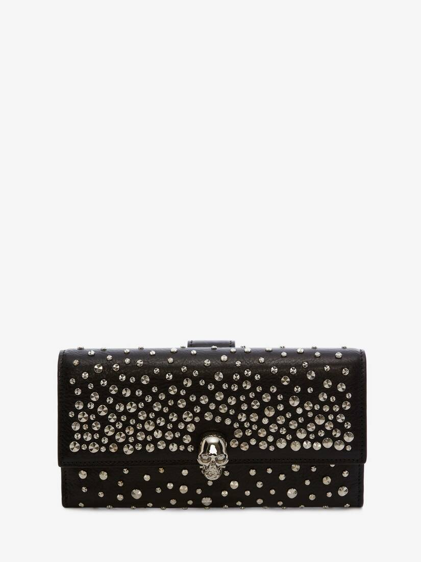 Display a large version of the product image 1 - Skull Continental Wallet