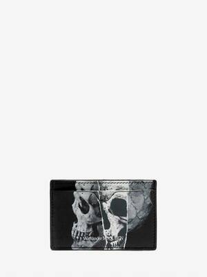 Torn Skull Card Holder