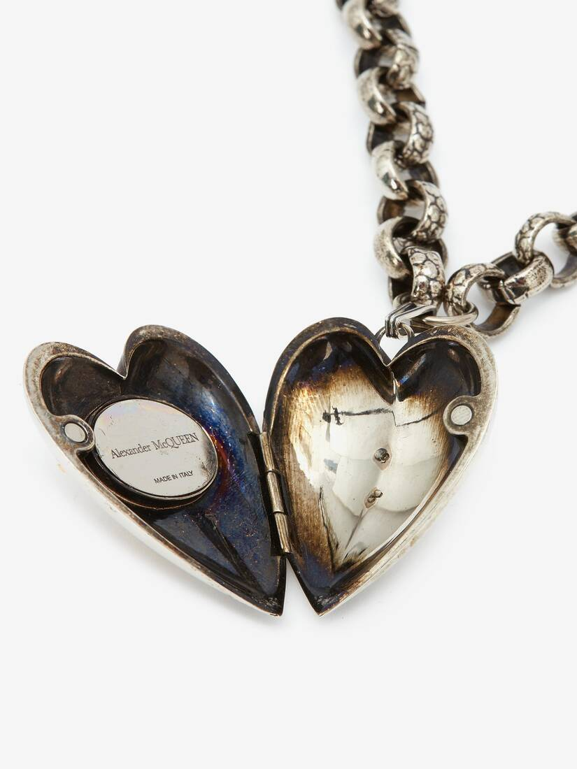 Display a large version of the product image 4 - Heart Locket Charm Necklace