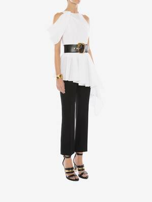 Asymmetric Draped T-Shirt