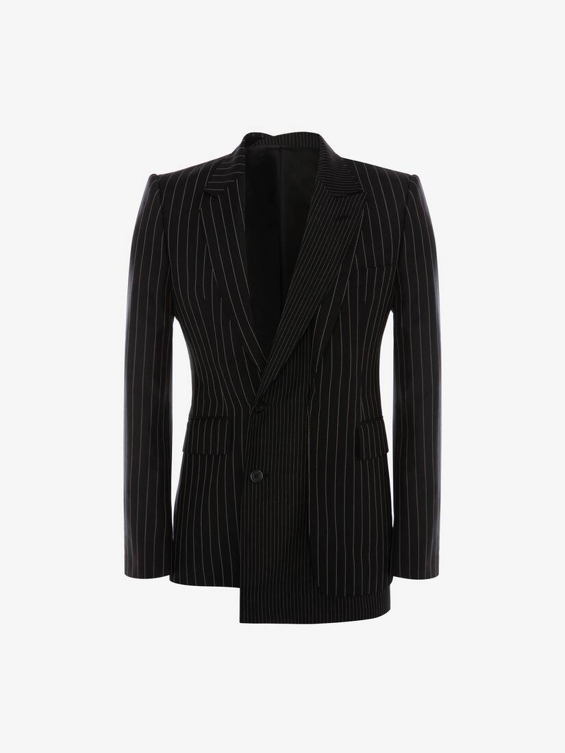 Display a large version of the product image 1 - Trompe-l'œil Pinstripe Jacket