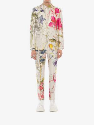 Deconstructed Floral Trousers
