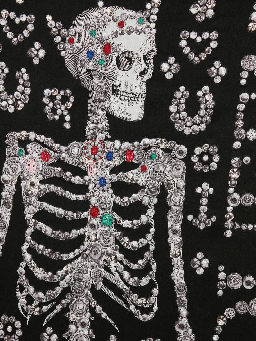 Étole Pearly McQueen Skeleton