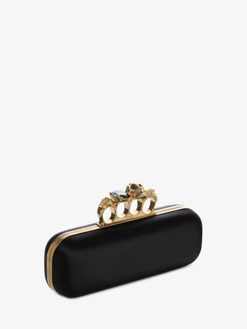 Display a large version of the product image 2 - Satin Four Ring Clutch