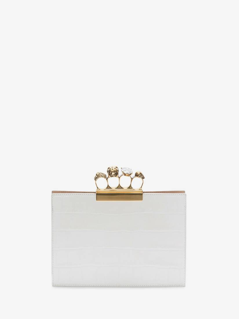 Display a large version of the product image 3 - Small Jewelled Four-Ring Clutch