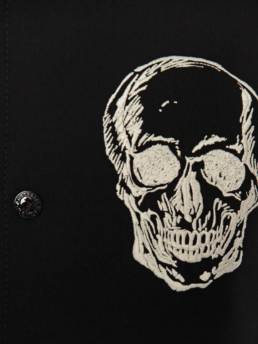 Display a large version of the product image 5 - Embroidered Skull Bomber Jacket