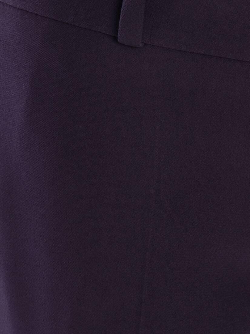 大きな製品イメージを表示する 5 - リーフクレープ ブーツカット トラウザー