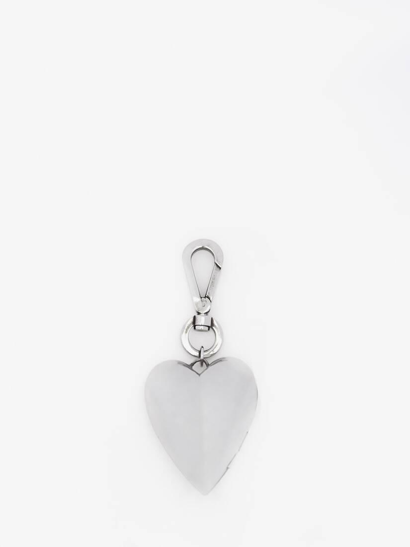 Heart Bag Charm