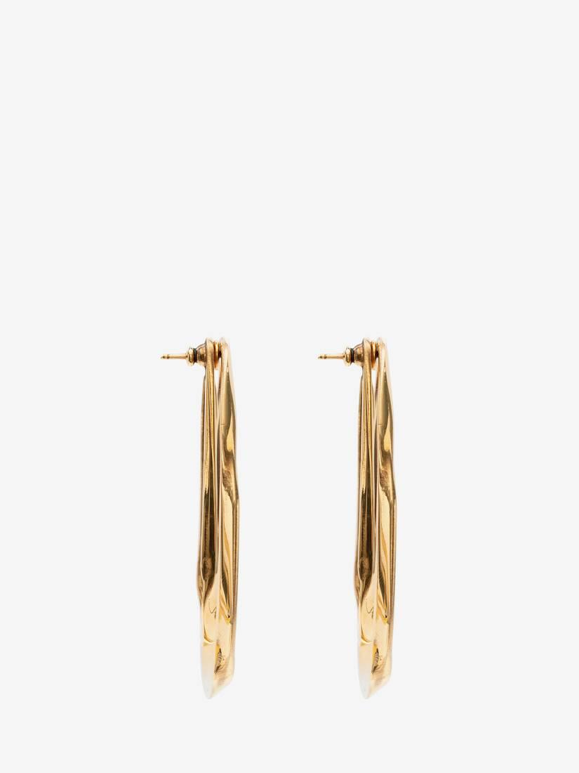 Afficher une grande image du produit 2 - Boucles d'oreilles double couche