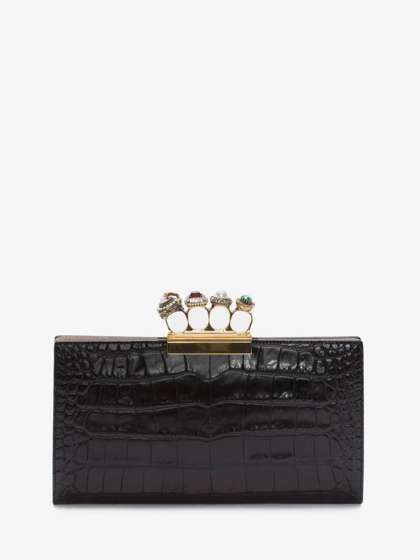 Display a large version of the product image 1 - Jeweled Four-Ring Pouch
