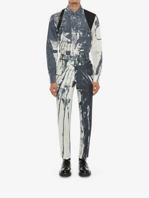 트롱프뢰유 프린트 하네스 셔츠