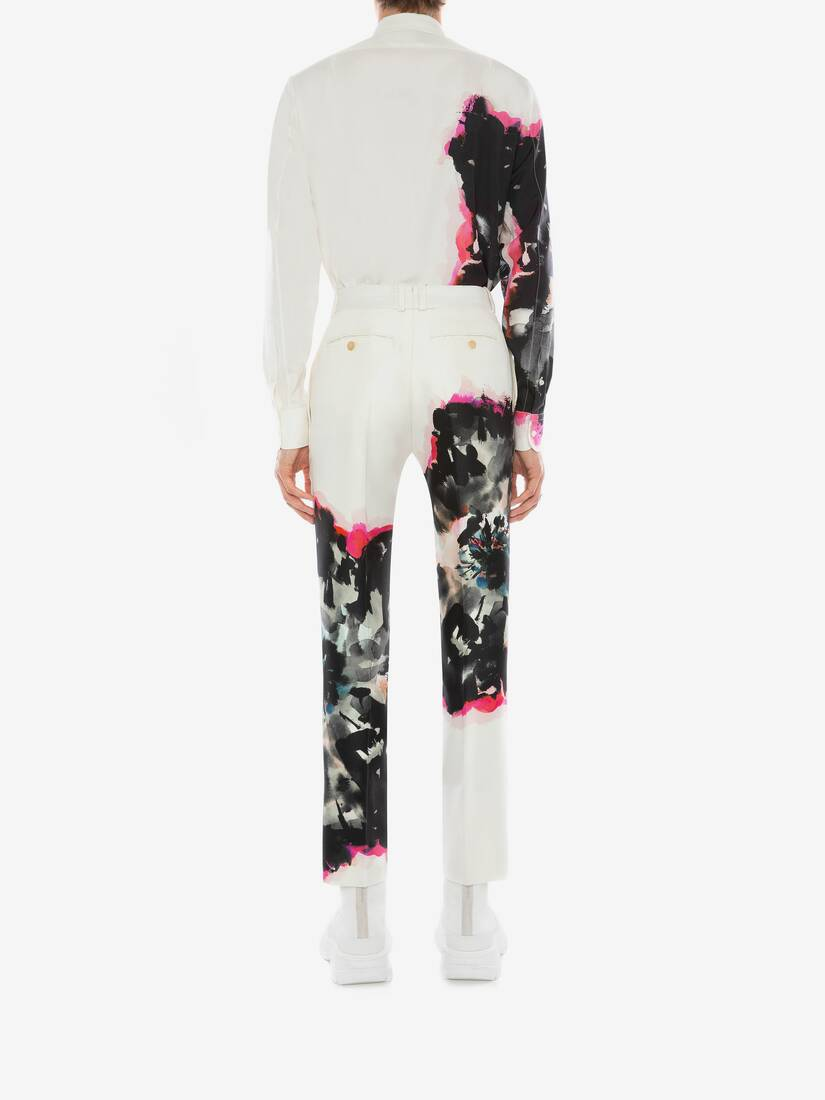 Display a large version of the product image 5 - Ink Floral Trousers