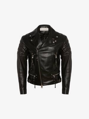 Punk Leather Biker Jacket