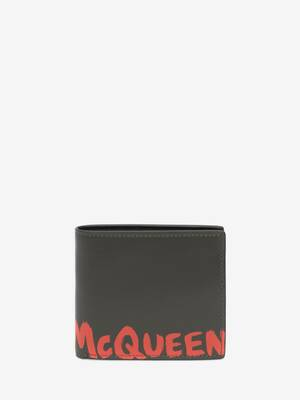 McQueen Graffiti Billfold Wallet