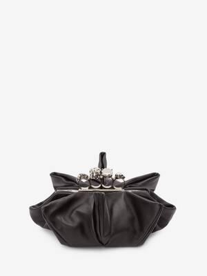 Skull Four-Ring Flower Clutch