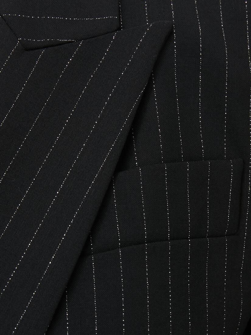 Lurex Pinstripe Jacket